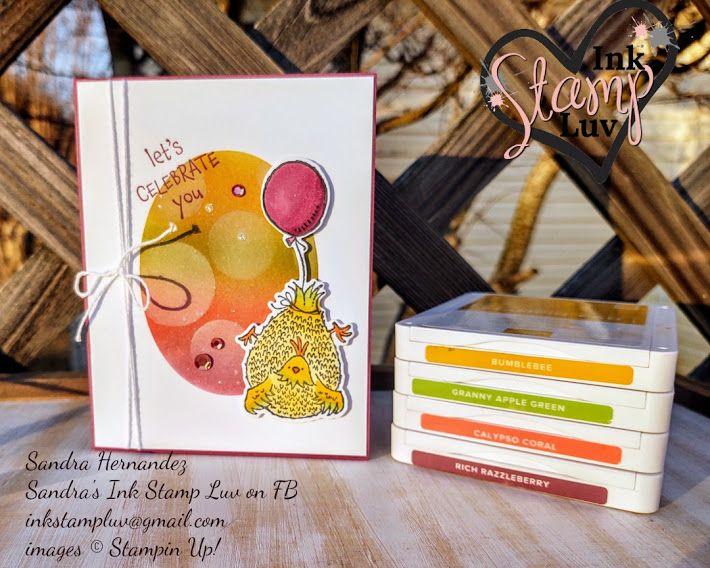 Stampin' UP! new Hey Birthday Chick Stamp Set and