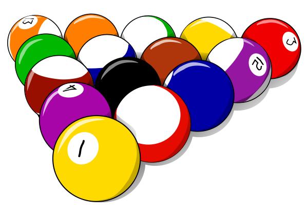 Pool Ball Clip Art