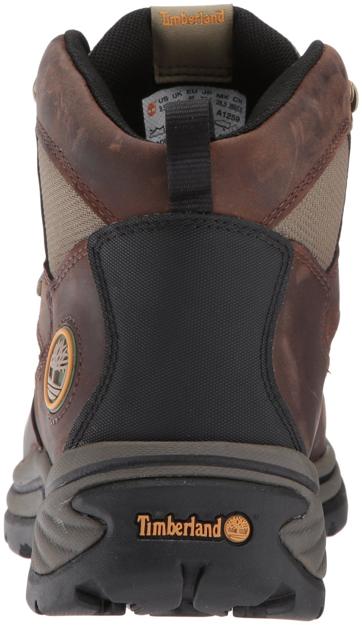 146a2721ecc Timberland Mens Chocorua Trail Mid Waterproof BootBrown/Green9 M ...