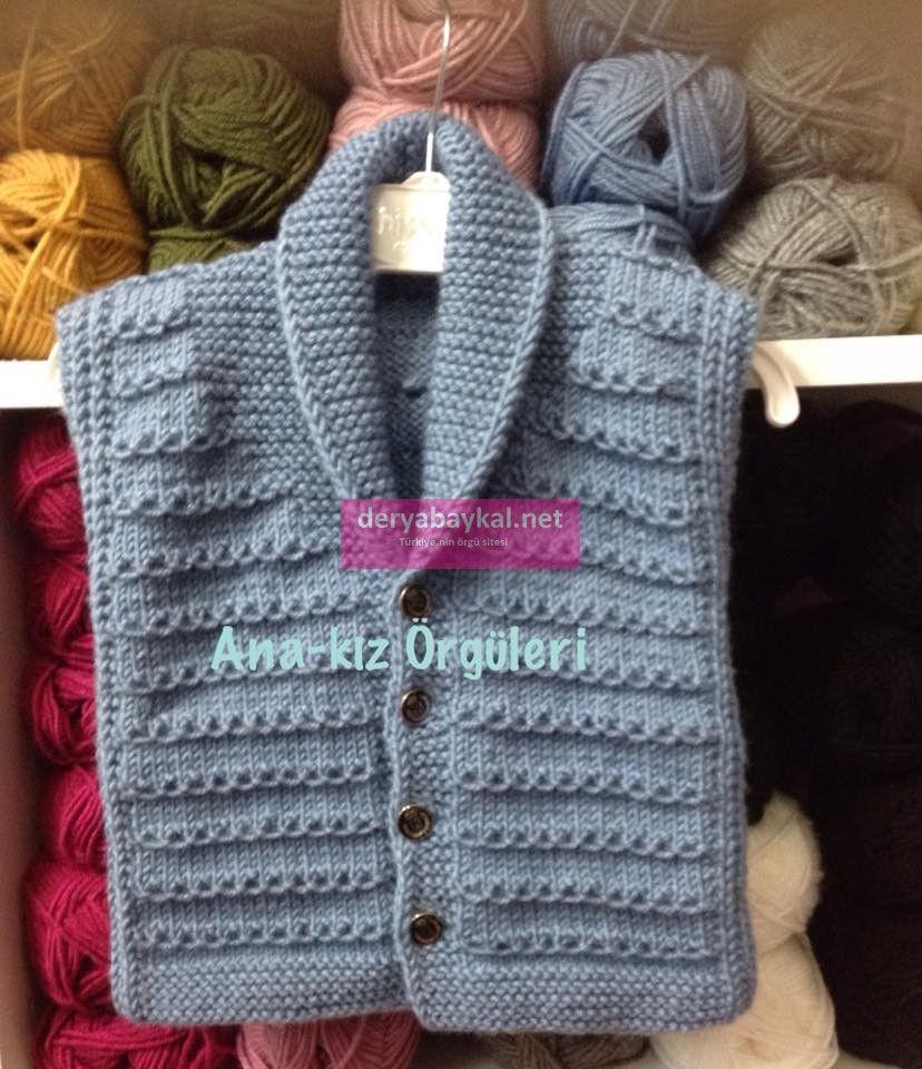 Sal Yaka Yelek Tarifi Crochet Baby Sweater Pattern Crochet Baby Sweaters Knit Baby Sweaters