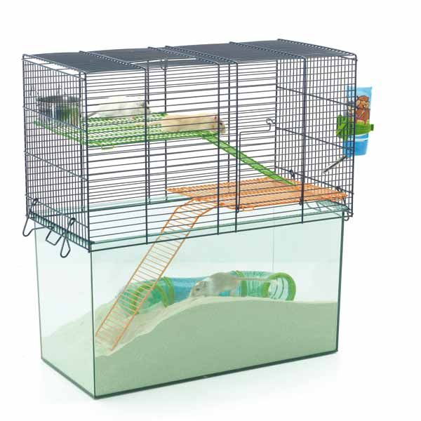 Large Sand Pit Cage Small Pets Gerbil Pet Home
