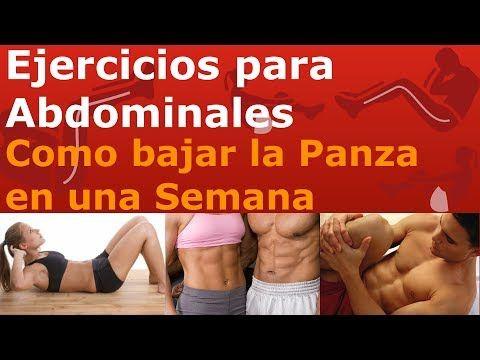 Videos de ejercicios para bajar de peso en casa en una semana