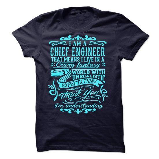 I Am A Chief Engineer T Shirts, Hoodies, Sweatshirts. CHECK PRICE ==► https://www.sunfrog.com/LifeStyle/I-Am-A-Chief-Engineer-44680771-Guys.html?41382