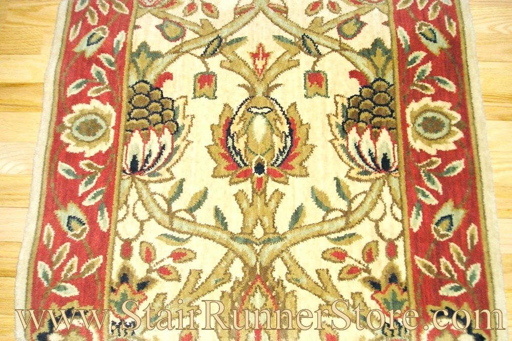Best Nourison Grand Moghul Stair Runner Beigerust 30 Carpet 400 x 300