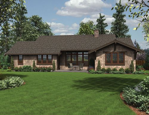 Fresh Remodel Ranch House to Craftsman