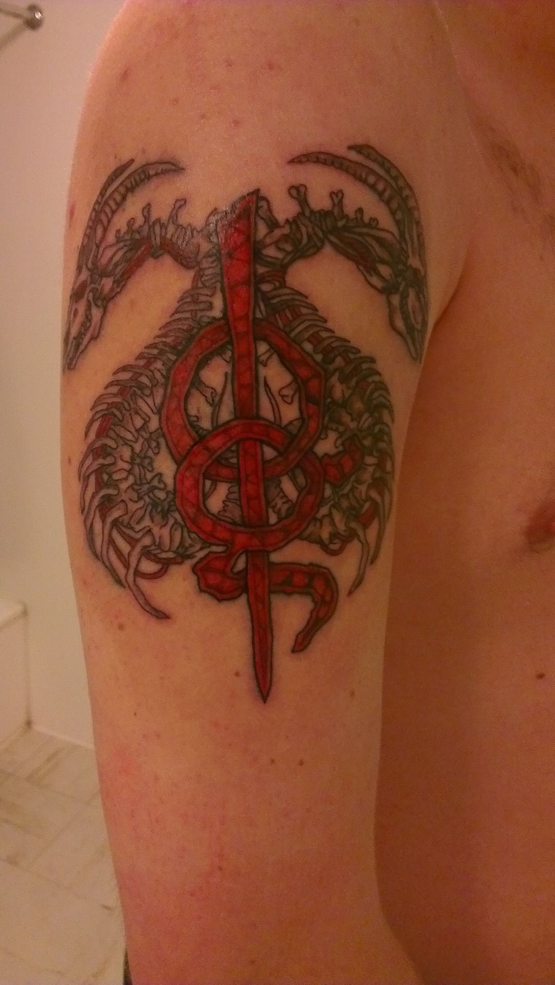 Lamb of god tattoos