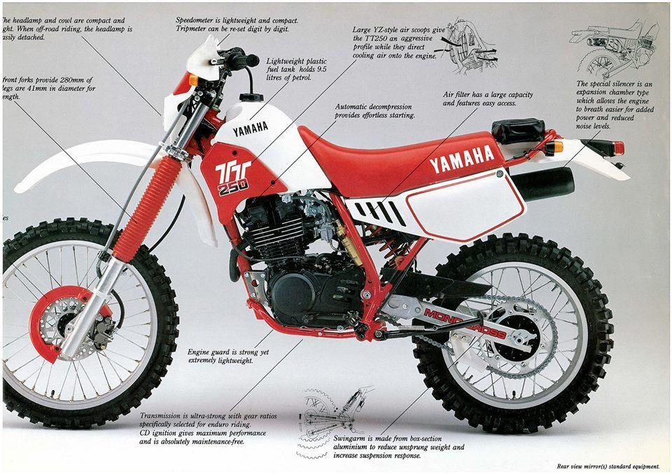 1986- Yamaha TT250 Ad