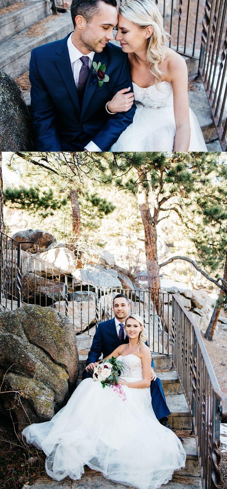 Evergreen Colorado Intimate Wedding couple Evergreen Colorado