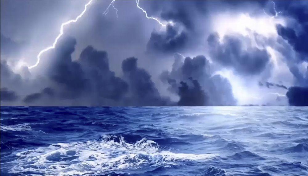 La Palabra De Dios La Provisión De Dios En Las Tormentas Sea Storm Hipster Wallpaper Victoria Secret Wallpaper