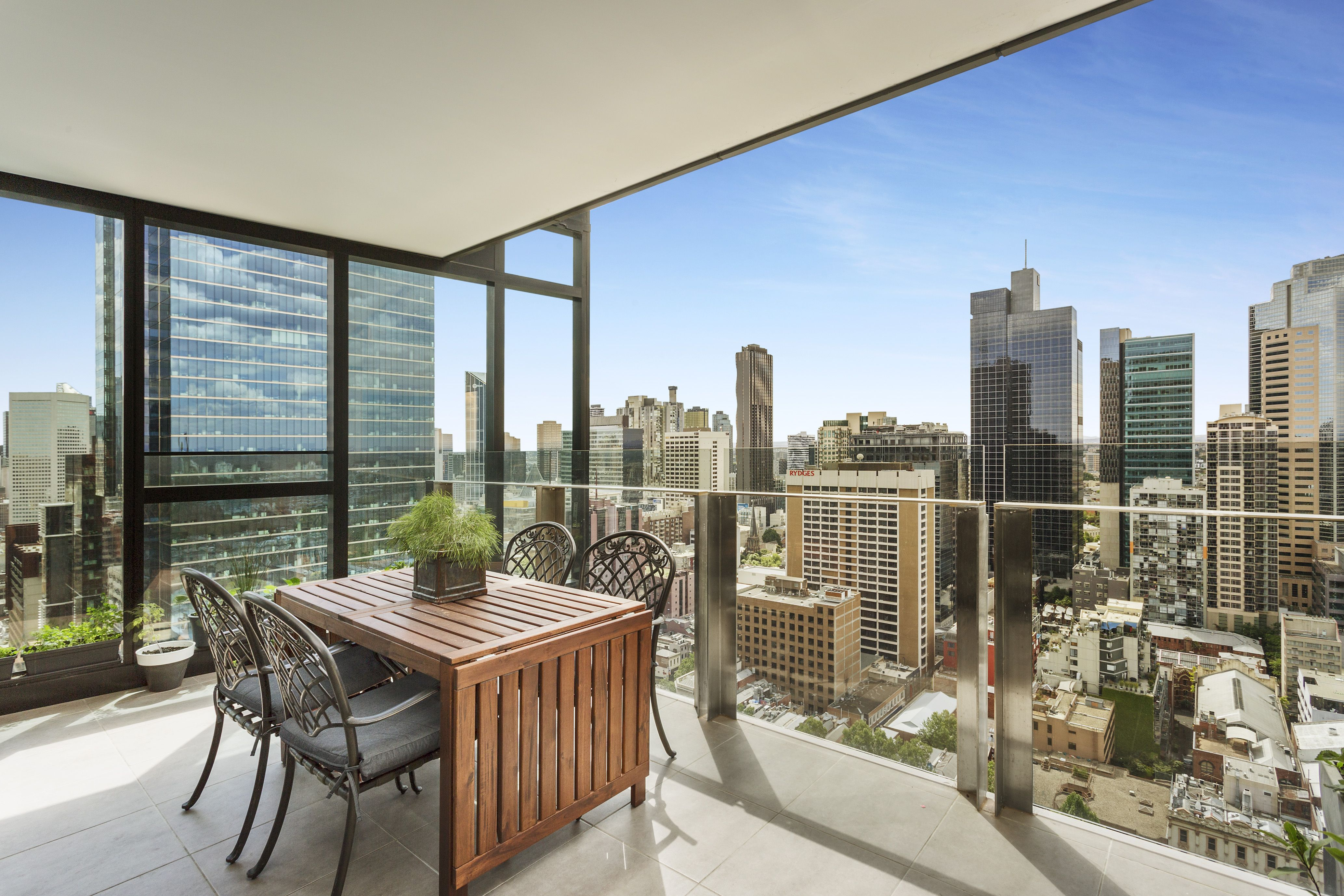 View from 27 Little Collins Street, Melbourne Outdoor