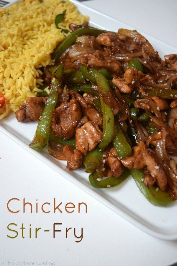 A Halal And Homemade Recipe For Teriyaki Sauce And Chicken Stir Fry Chicken Stir Fry Fun Easy Recipes Homemade Teriyaki Sauce