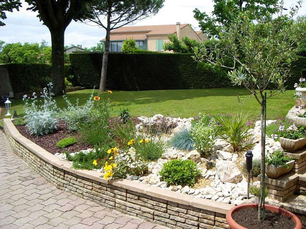 déco jardin rocaille | Maison | Pinterest | Déco jardin, Rocaille et ...