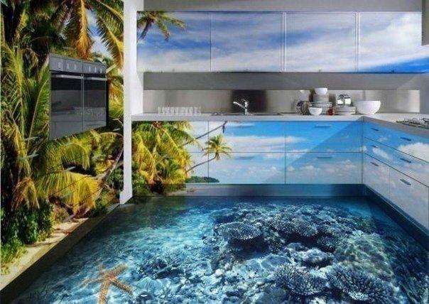 Tropical Kitchen art kitchen modern living room interior design modern kitchen contemporary home decorating apartment decorating