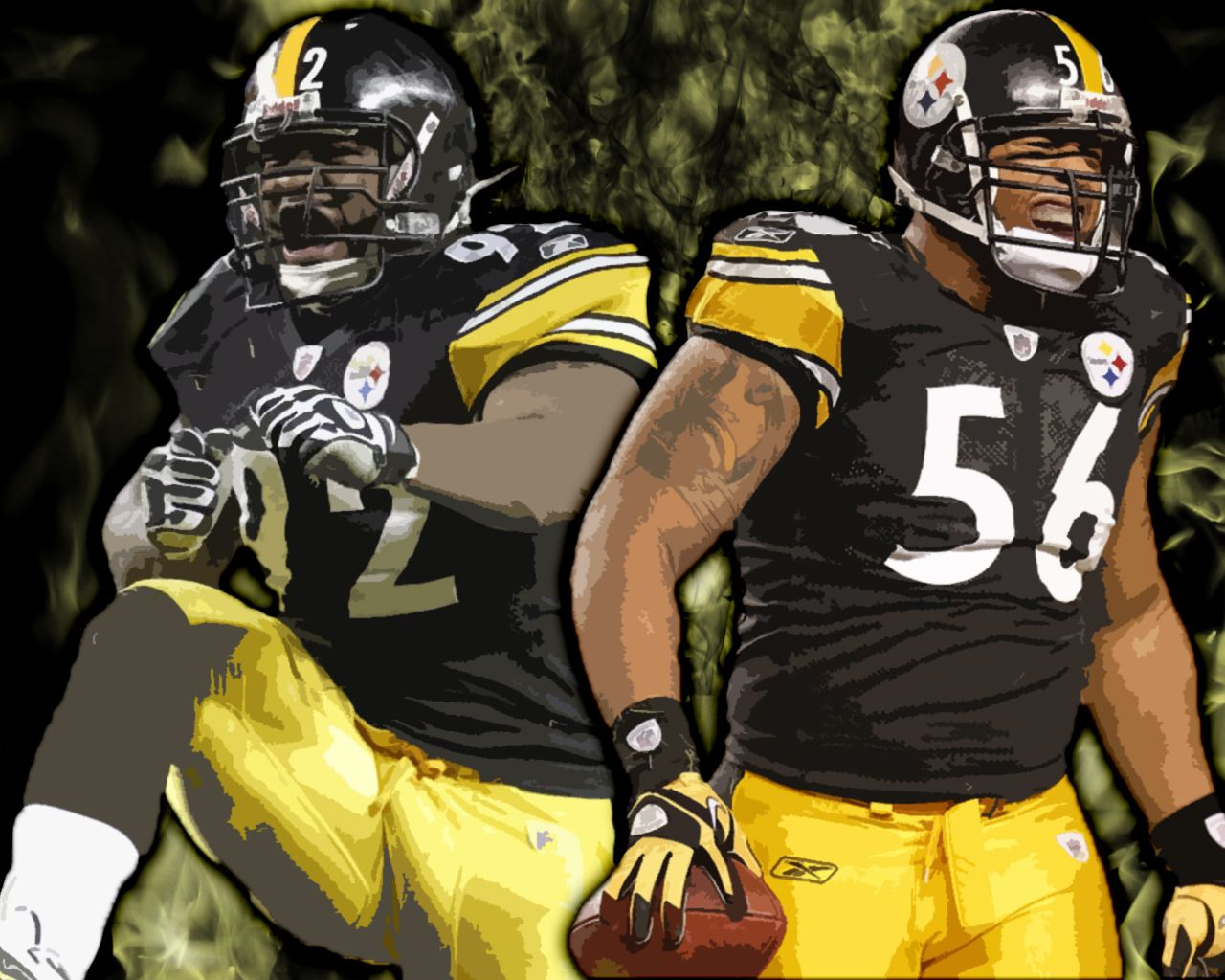 Best pair of outside linebackers in the league.  By far.