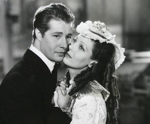 Loretta Young and Don Ameche in Alexander Graham Bell