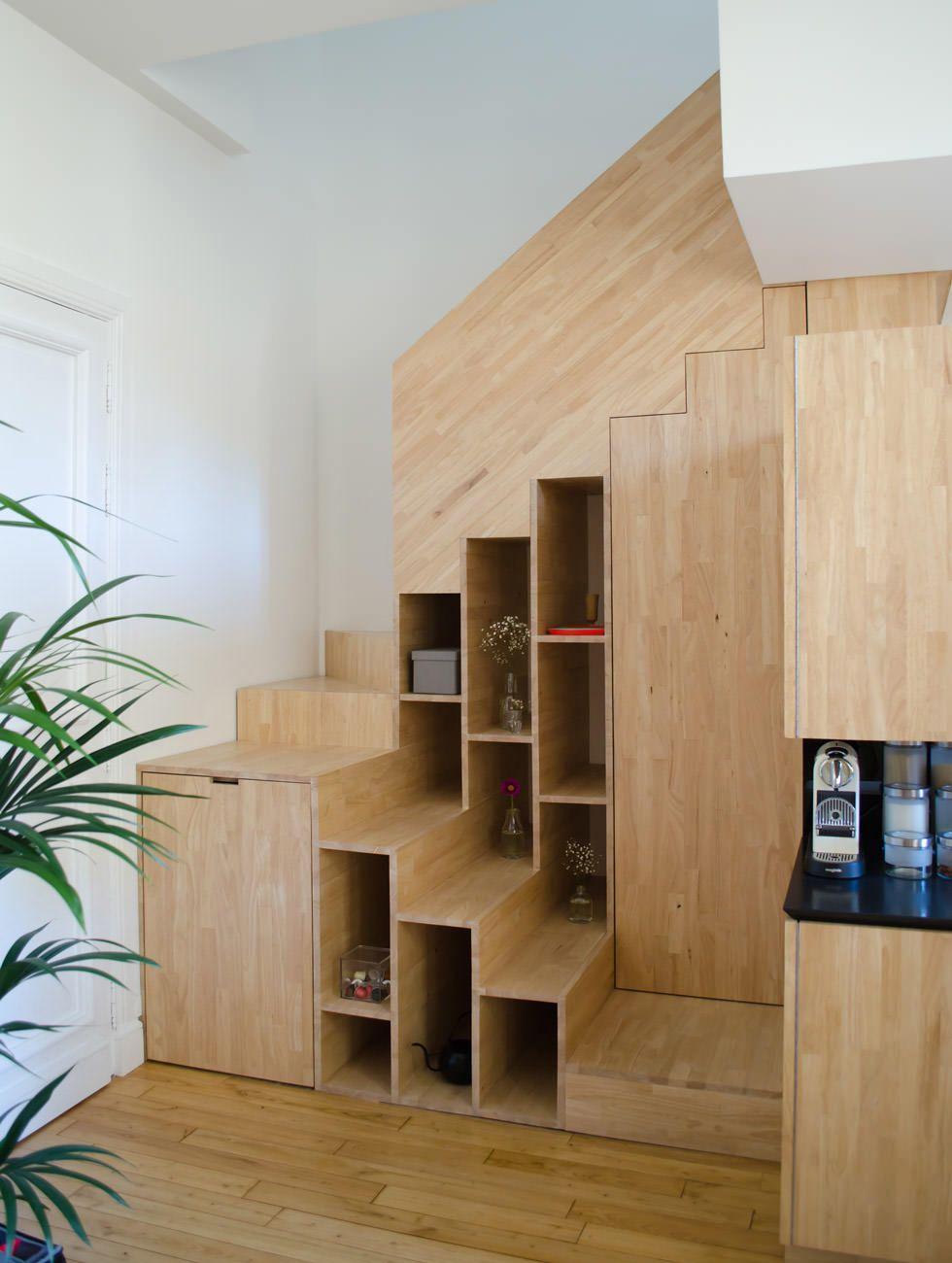Guida introduttiva & 40 idee scale in legno per interni ...