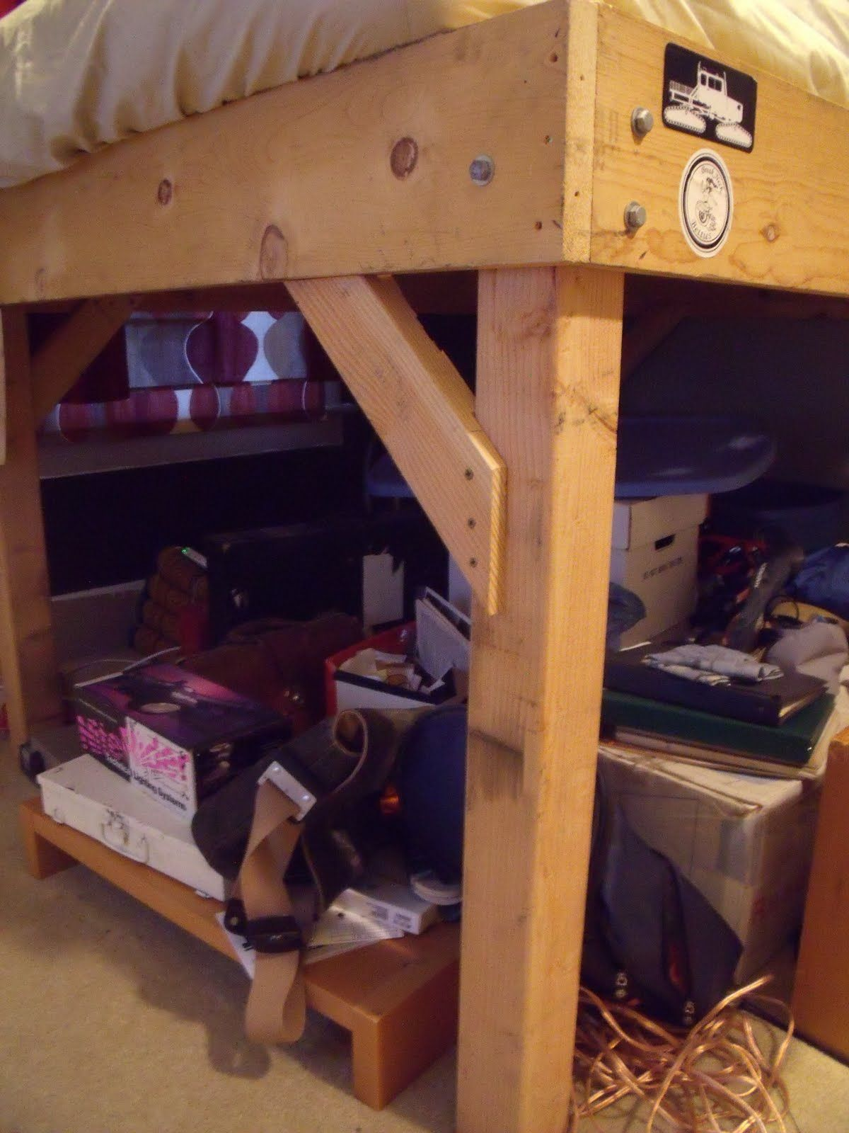 diy 4x4 bunk beds | Make Your Own Loft Bed | Bodacious ...