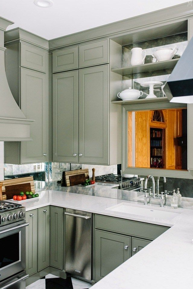 Green Small Kitchen Remodel Inspo Kitchen Remodel Small