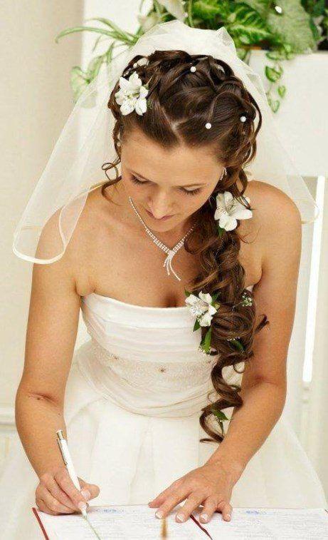 Hochzeitsfrisuren Mit Diadem Und Schleier Frisuren Manner
