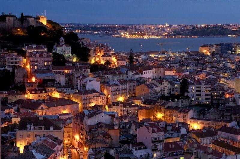 Miradouro Senhora Do Monte Lisboa Portugal Weekend City Breaks Vacation Trips Lisbon