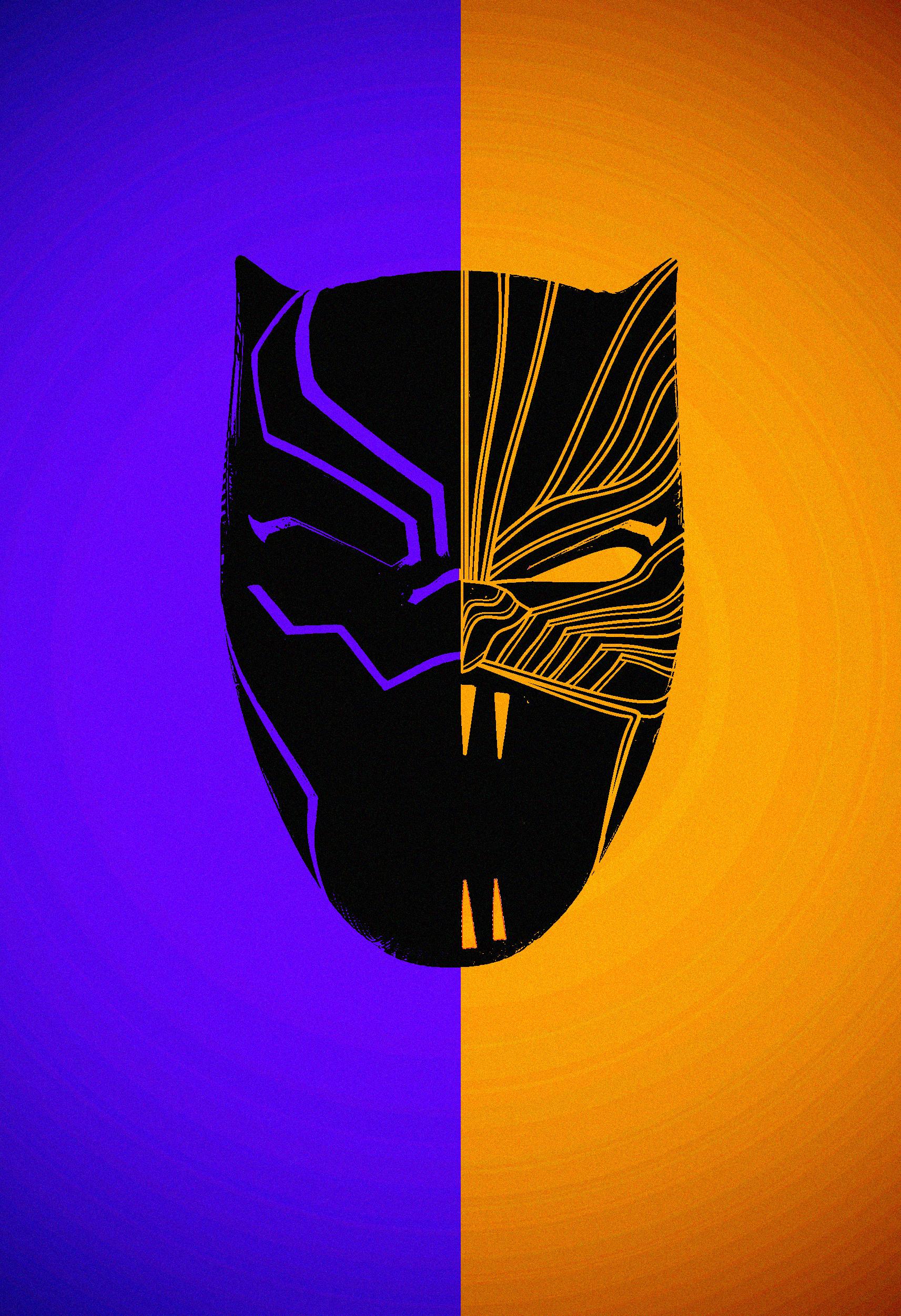 Black Panther Poster I Made Feat The Gold Jaguar Aka Killmonger