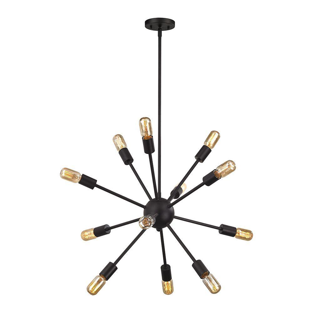 lustre 12 ampoules delphine au fini bronze huil d coration int rieure pinterest bronze. Black Bedroom Furniture Sets. Home Design Ideas