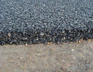 Side view of asphalt driveway drivewayentrance gategarage side view of asphalt driveway solutioingenieria Choice Image