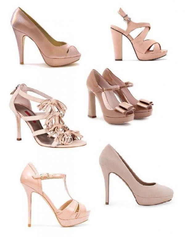 fe747eb7f Que sapatos usar com um vestido rosa chá. O rosa chá tornou-se numa cor  muito na moda, e ao mesmo tempo muito elegante e prática para qualquer  ocasião.
