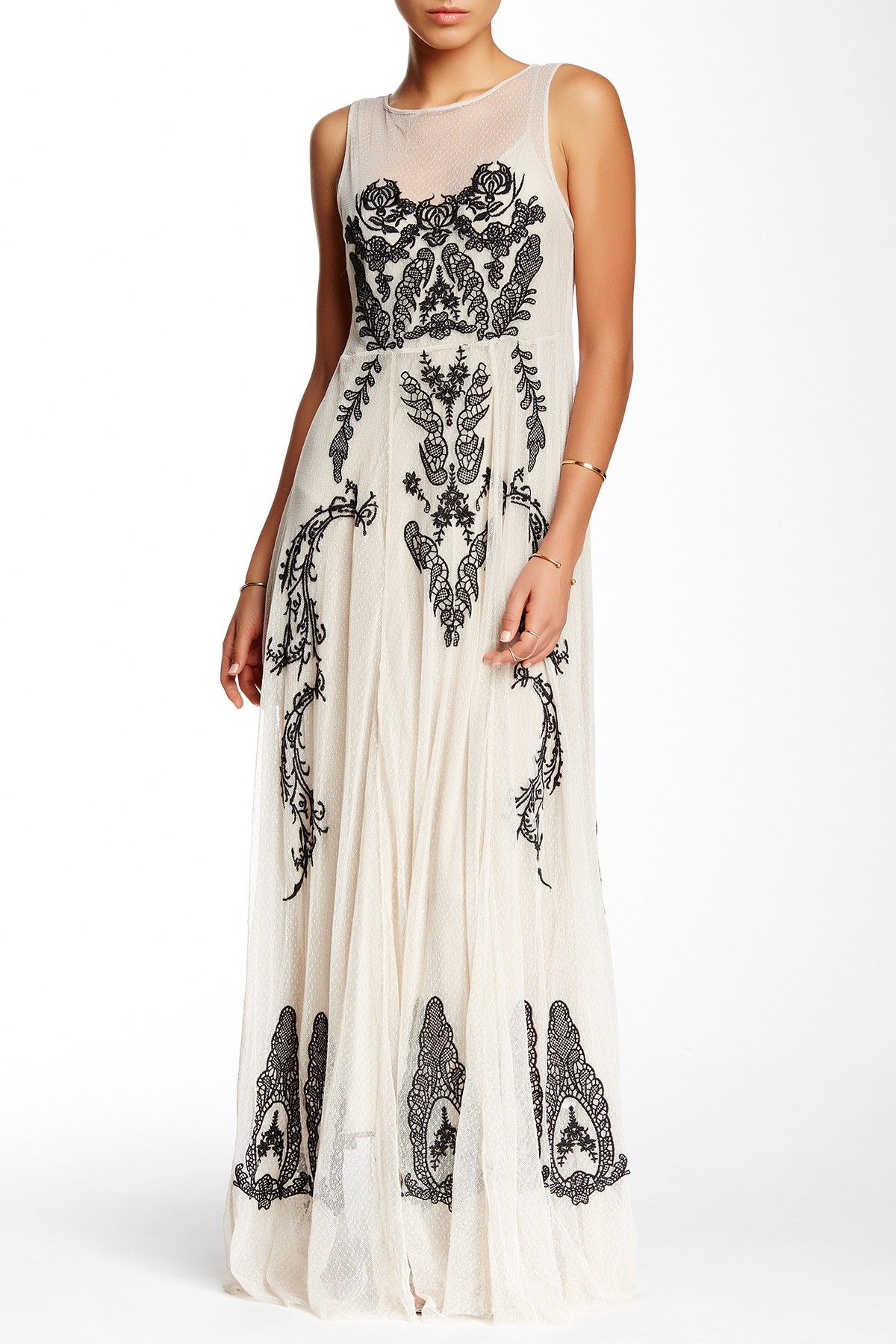 On Hautelook Biya Embroidered Lace Maxi Dress Fancy Gowns Elegant Dresses For Wedding Guest Nordstrom Wedding Dresses [ 1800 x 1200 Pixel ]