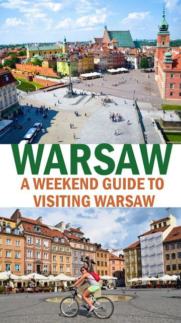 My Weekend In Warsaw | European Travel | Europe travel tips, Poland