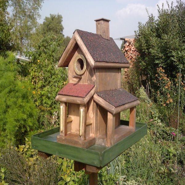 Vogelhaus vogelh user pinterest vogelh user ideen - Modernes vogelhaus ...
