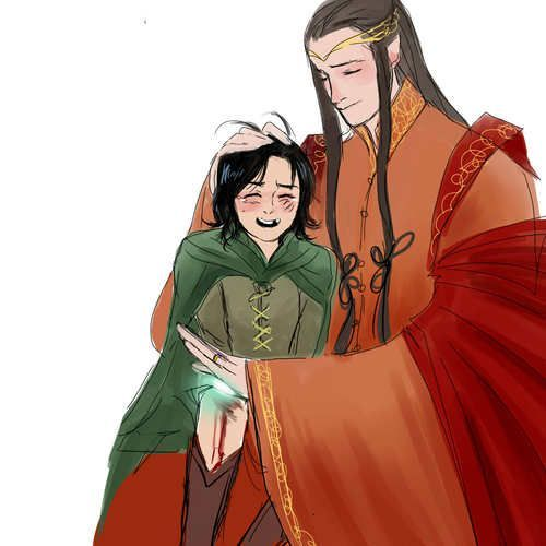 Elrond and Estel