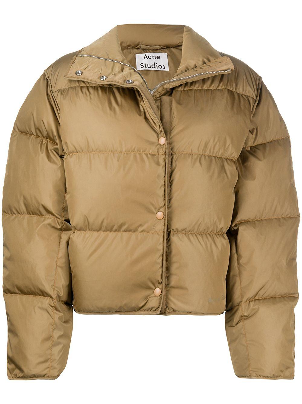 Acne Studios Short Puffer Jacket Farfetch [ 1334 x 1000 Pixel ]