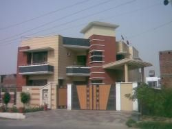 home elevation design with gate and boundary wall by jagjeet ...