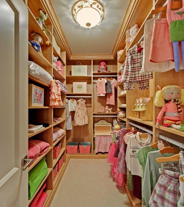 Walk In Closet For My Little Girl Home Ideas Closet