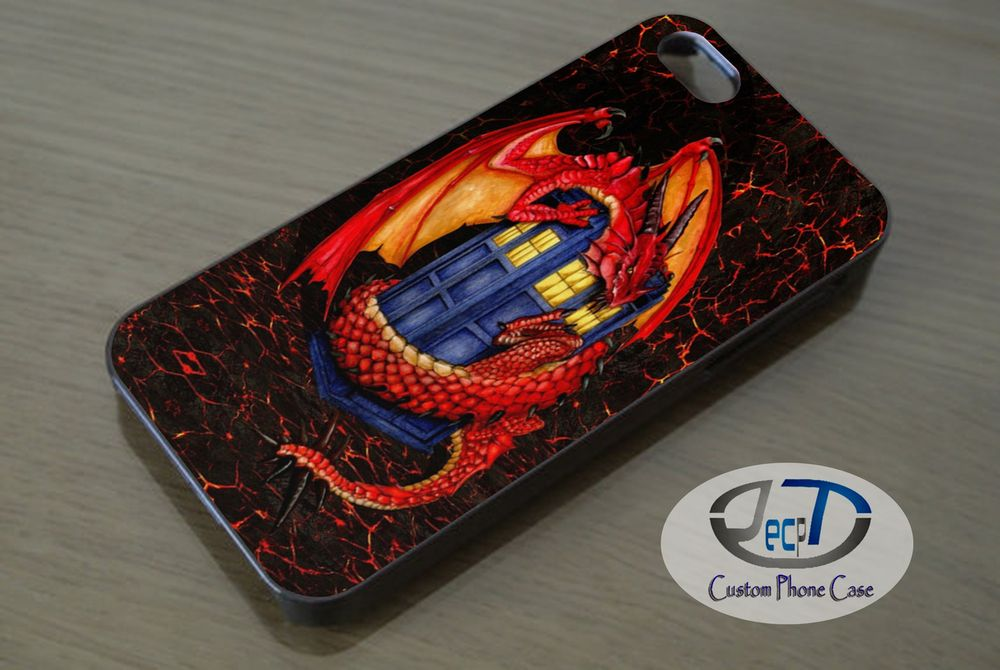 Doctor Who Tardis with Dragon Case iPhone, iPad, Samsung Galaxy & HTC One Cases