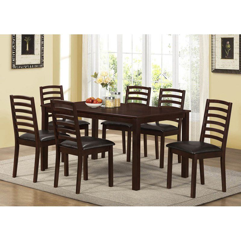 Monarch Dark Walnut Rectangle Dining Table   $210.45 @hayneedle. 7 Piece  Dining SetDining ...