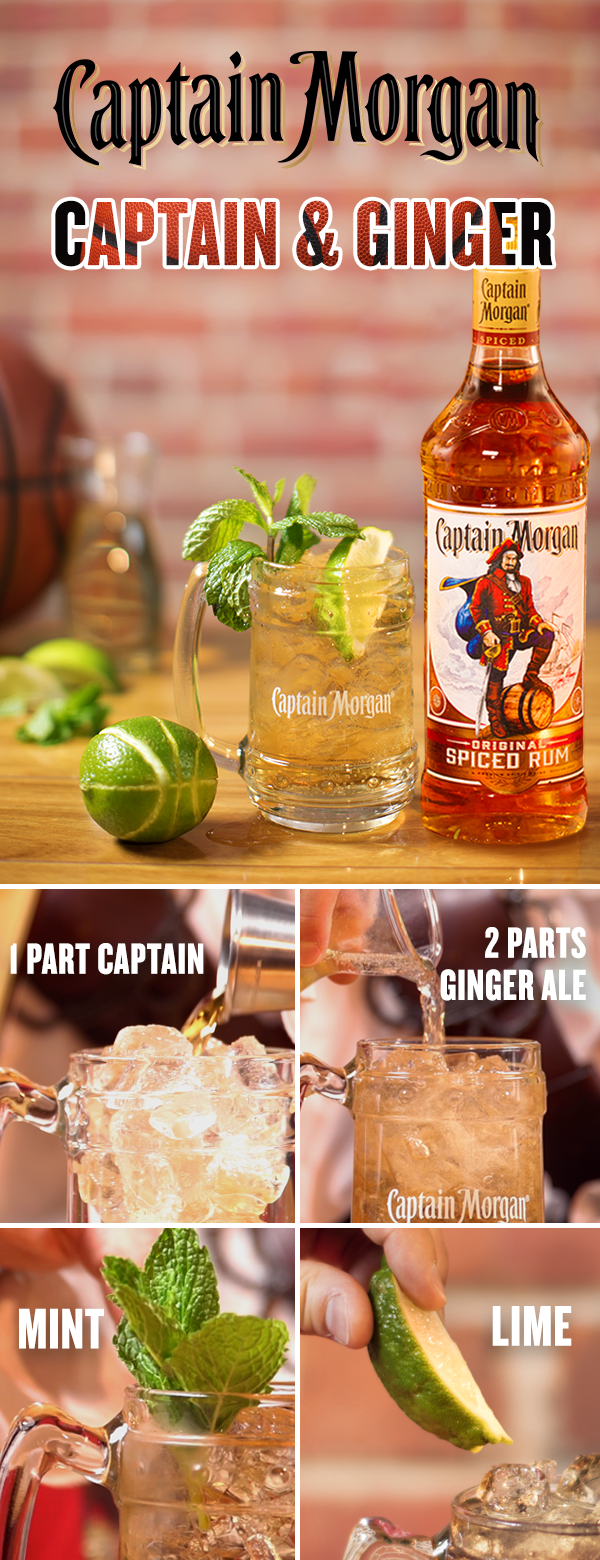 Let The Captain On The Court Worry About Breaking Down The Zone Hitting A Big Shot Or Rocking The Rim With A Slam Dunk As Rum Drinks Spiced Rum Yummy Drinks