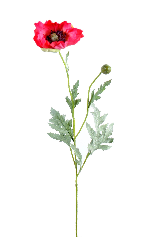 pavot artificiel coquelicot - Fleurs artificielles - vente en ligne