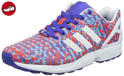 adidas Originals ZX Flux Weave B34473, Herren Low-Top Sneaker, Mehrfarbig  (Night