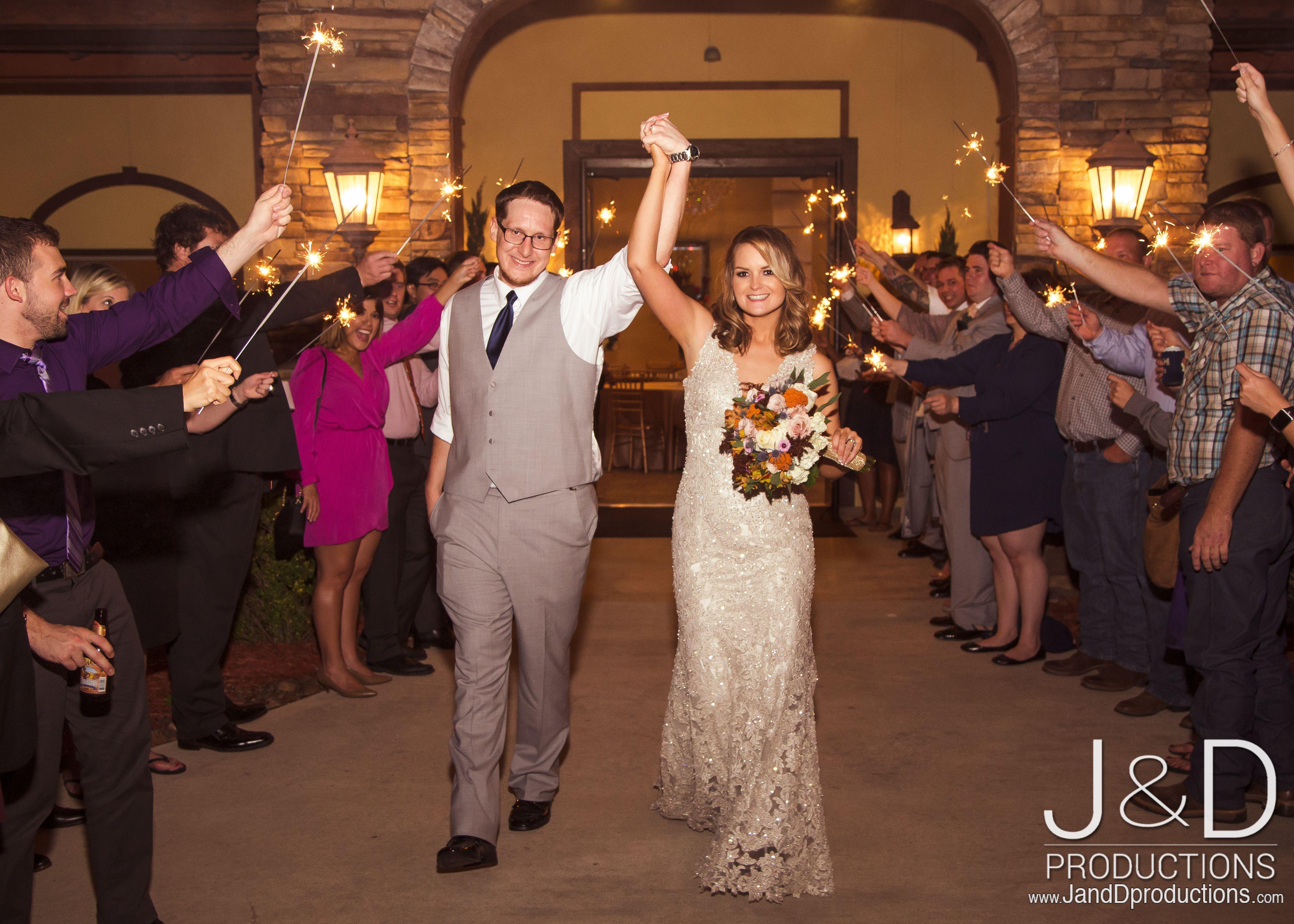 Wedding Sparkler Exit Outdoor Weddings In Houston Ceremony