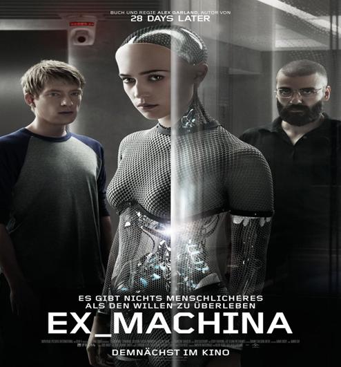 Ex Machina Synopsis And Trailer Musik Film Buku
