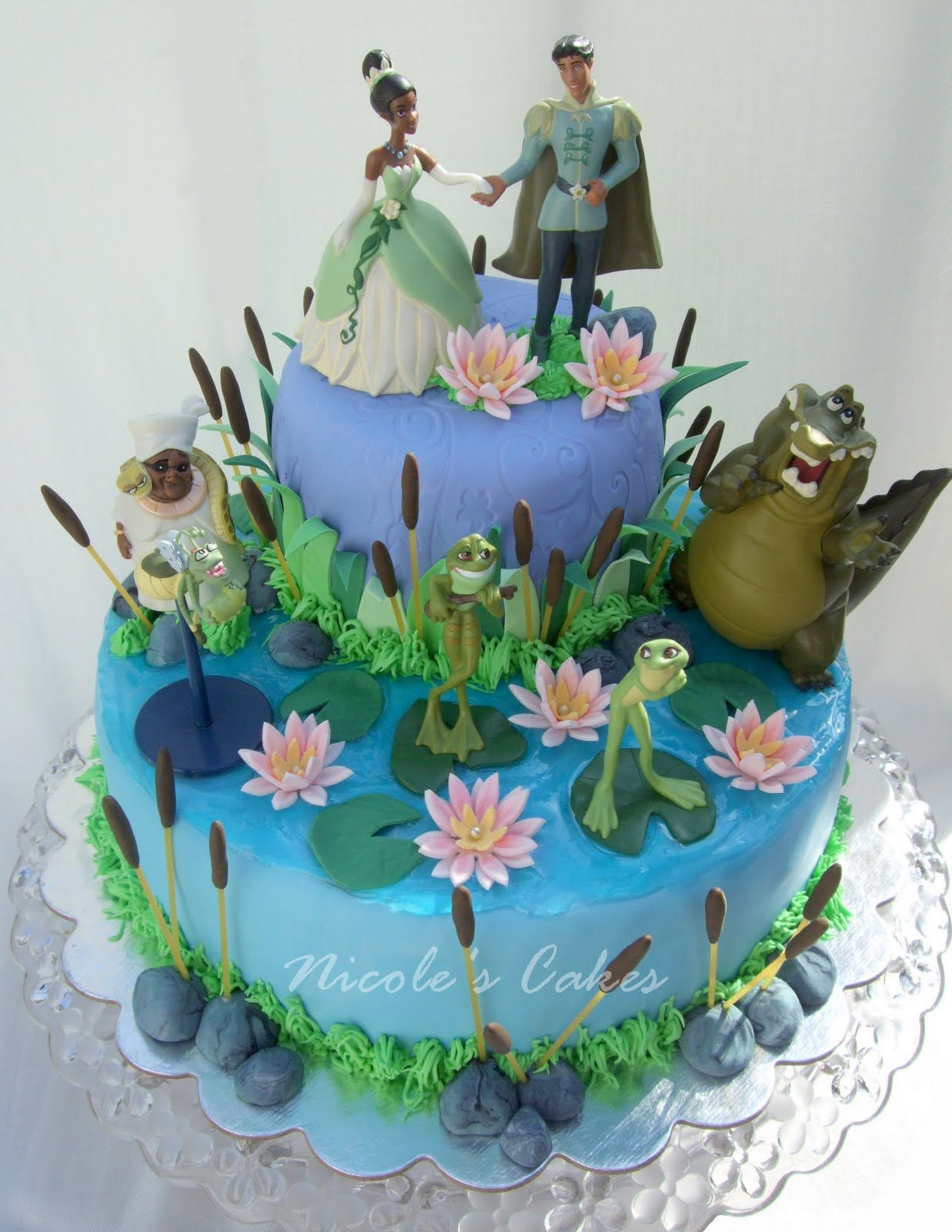 Princess And The Frog Bedroom Decor The Princess And The Frog Figure Play Set 7 Pc Birthday Party
