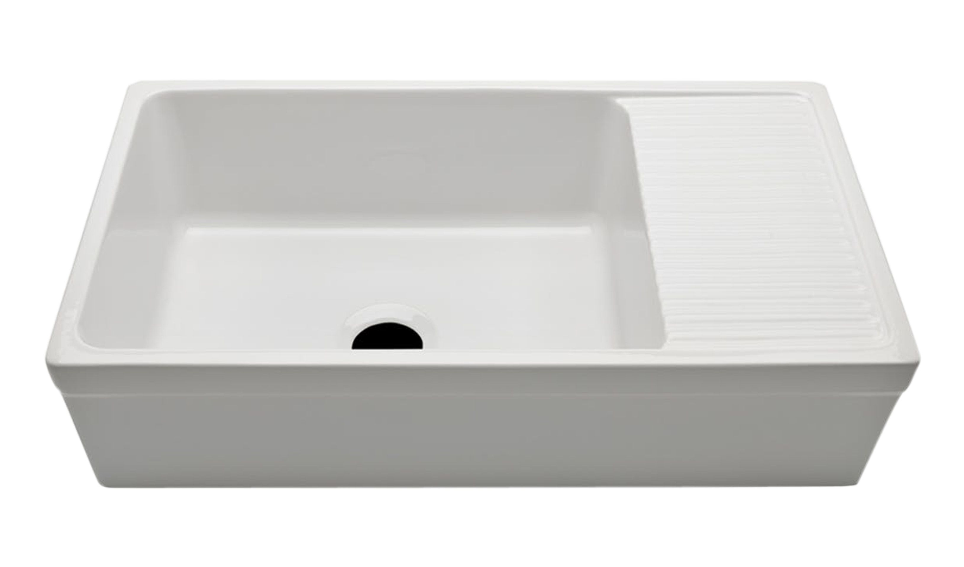 Clayburn Fireclay Farmhouse Apron Kitchen Sink with