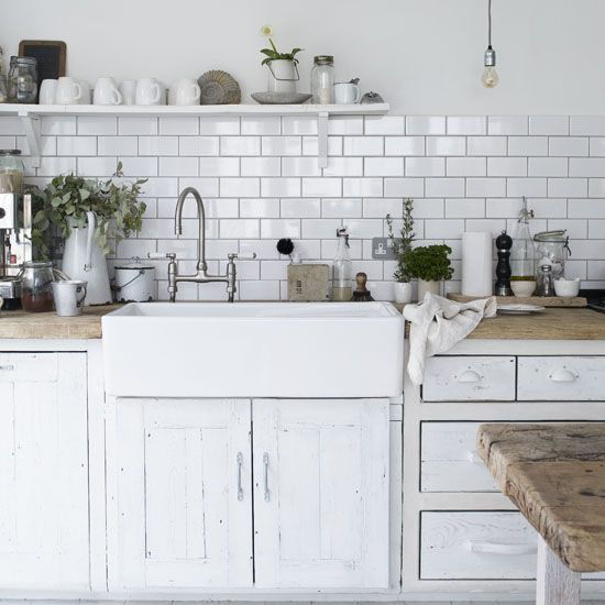 I desperately want a subway tile back splash.... Will I be in my current home long enough to make it worth the investment is the question... My back splash area is quite small... But then I'd want new counter tops to complete the look. Oh the dilemma!