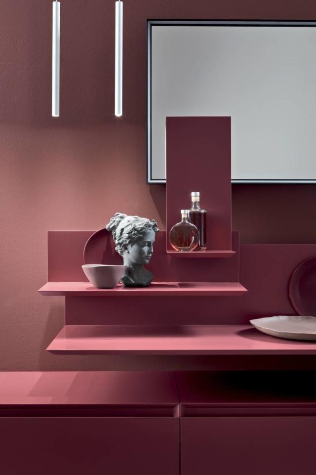 Mobile bagno sospeso colorato o in essenza? Bagni