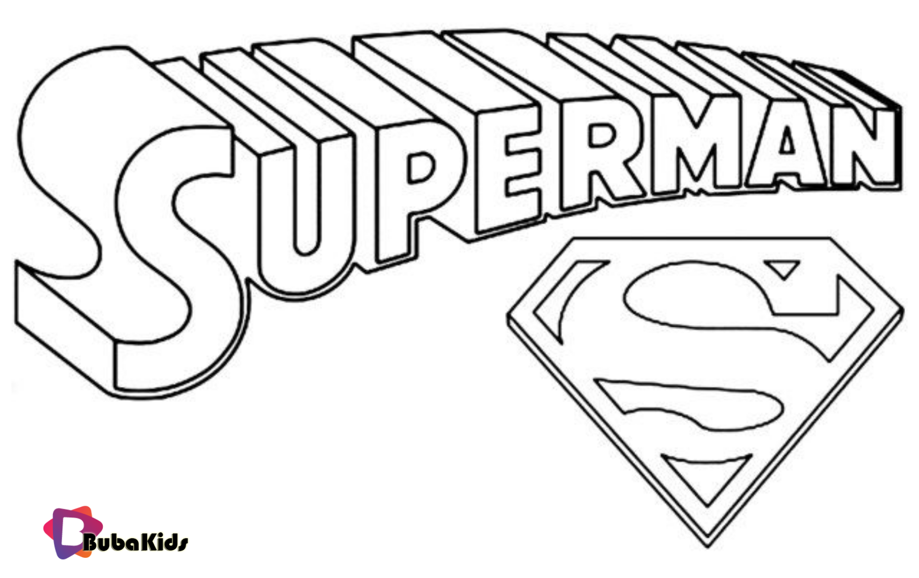 Superman Logo Printable Coloring Page Coloring Page Photo Superhero Superman Coloring Superman Coloring Pages Superhero Coloring Superhero Coloring Pages