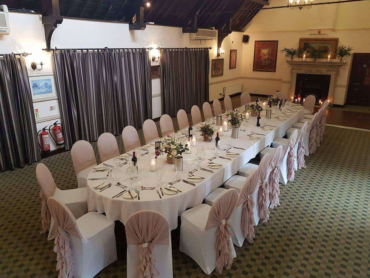 Intimate Wedding Breakfast For 27 Guests Eaton Suite Dunston Hall Norwich Norfolk