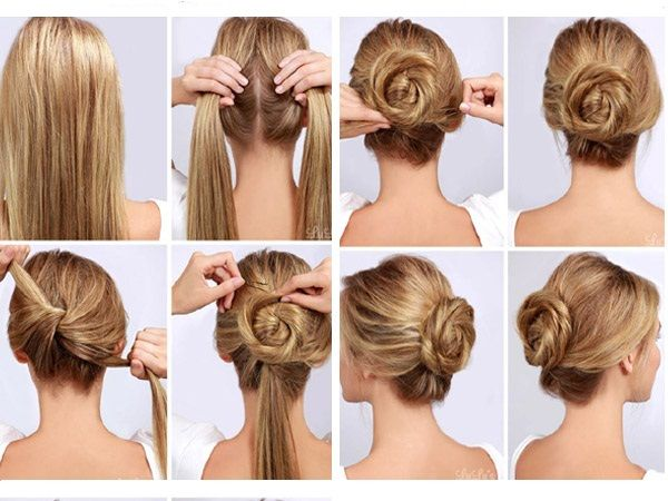 Hairstyle Step By Step Hair In 2018 Pinterest Hair Styles