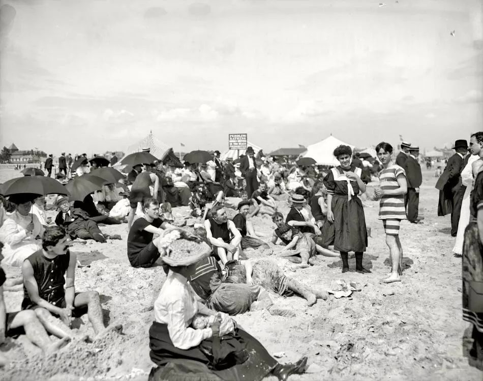 Shorpy Historical Photo Archive :: Seasons in the Sun